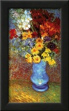 Vase with Anemone Prints by Vincent van Gogh