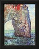 The Manneporte near Etretat, c.1886 Prints by Claude Monet