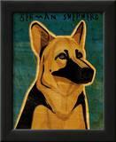 German Shepherd Posters by John Golden