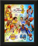 '09 NBA Finals Match Up - Lakers / Magic Print