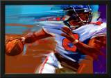 Determination: Quarterback Prints by Bill Hall