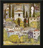 Church at Cassone sul Garda Prints by Gustav Klimt