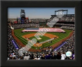 Coors Field 2008 Opening Day; Colorado Rockies Print