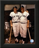 Mickey Mantle and Roger Maris- Palm Trees Art