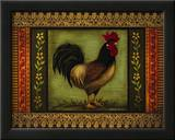 Mediterranean Rooster VI Prints by Kimberly Poloson