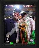 Kevin Garnett & Bill Russell, Game Six of the 2007-08 NBA Finals Prints