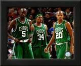 Kevin Garnett , Paul Pierce, and Ray Allen Prints
