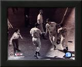 Ted Williams - Homeplate (sepia) Posters