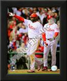 Ryan Howard & Chase Utley Game 4 of the 2008 MLB World Series Print