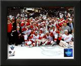 2007-08 Detroit Red Wings Stanley Cup Champions Celebration on Ice Prints