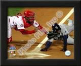 Carlos Ruiz Game 5 of the 2008 World Series Prints