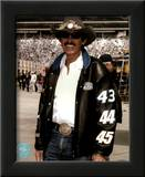 Richard Petty Portrait With Black Leather Jacket Prints