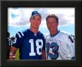 Peyton Manning And Dan Marino Prints