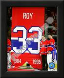 Patrick Roy & Carey Price Jersey Retirement Night 2008-09 Prints