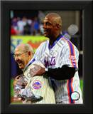 Yogi Berra & Darryl Strawberry Final Game at Shea Stadium 2008 Prints