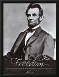 Freedom: Abraham Lincoln Prints
