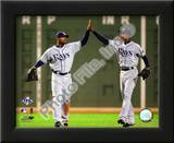 Carl Crawford & B.J. Upton 2008 ALCS Game 4 Prints