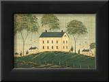 Farm House on Hill Posters by Warren Kimble