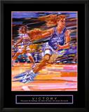 Victory: Basketball Print by Bill Hall
