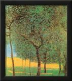 Orchard Poster by Gustav Klimt