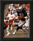 Marcus Allen - Black Uniform With Ball Poster