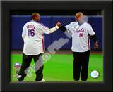 Dwight Gooden & Darryl Strawberry Final Game at Shea Stadium 2008 Posters