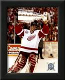 Dominik Hasek with the 2002 Stanley Cup 11 Posters