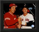 Johnny Bench / Carl Yastrzemski Art