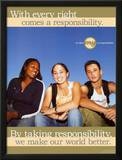 Taking Responsibilty Posters