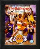 2007-08 LA Lakers Western Conference NBA Champions Print
