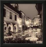 Caffe, Asolo, Veneto Lámina por Alan Blaustein