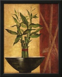 Lucky Bamboo II Print by Eugene Tava