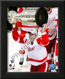 Henrik Zetterberg with the Stanley Cup Game 6 of the 2008 NHL Stanley Cup Finals; 27 Prints