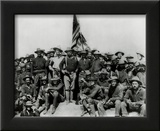 Theodore Roosevelt and The Rough Riders Art