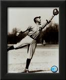 Ty Cobb - Fielding, sepia Print