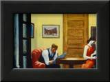 Room in New York Prints by Edward Hopper