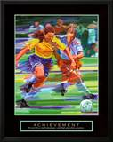 Achievement: Soccer Prints by Bill Hall