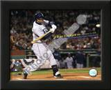 Evan Longoria Most Postseason Home Runs by a Rookie 2008 ALCS Game 4 Poster