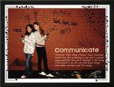 Communicate Print by Jeanne Stevenson