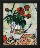Bouquet de Roses Art by Suzanne Valadon