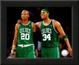 Paul Pierce & Ray Allen Game 4 of the 2008 NBA Finals Print