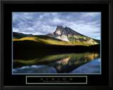 Vision: Mountain Reflection Art