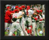 The Philadelphia Phillies 2008 Game 4 Celebration Posters