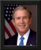 U.S. President George W. Bush Posters