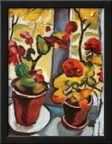 Blumen am Fenster Posters by Auguste Macke