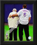 Yogi Berra & Gary Carter Final Game at Shea Stadium 2008 Poster
