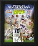 Peyton Manning & Eli Manning Posters