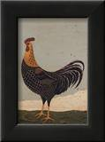 Rooster Facing West Prints by Warren Kimble