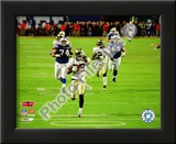 Tracy Porter Super Bowl XLIV Interception & Touchdown Return Posters