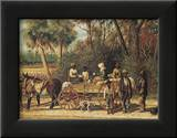 The Cotton Wagon Art by William Aiken Walker
